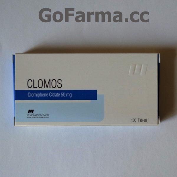 CLOMOS (кломос) 50MG/TAB - ЦЕНА ЗА 10 ТАБЛЕТОК. купить в России