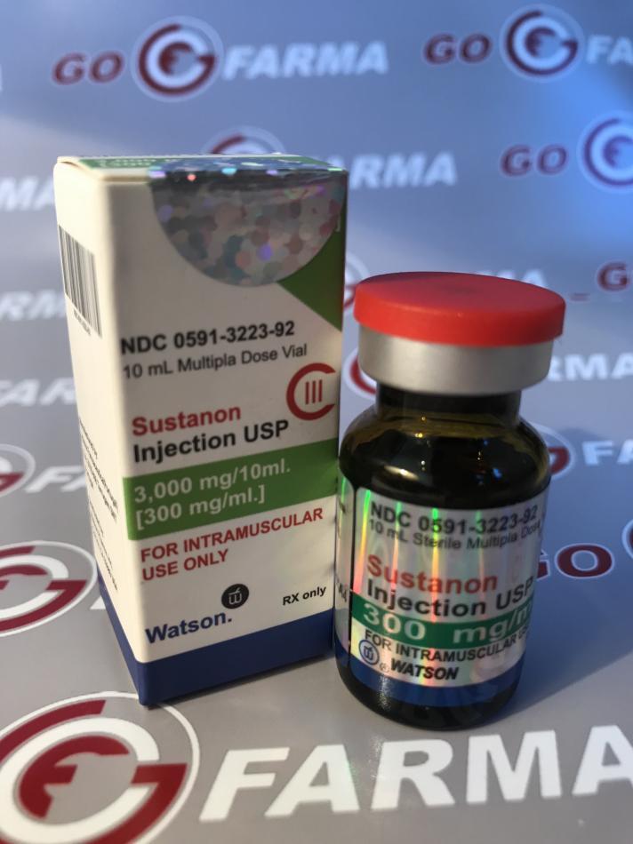 SUSTANON (сустанон) 300MG/ML - ЦЕНА ЗА 10 МЛ купить в России