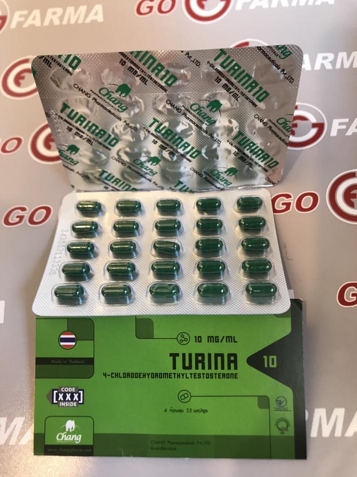 TURINA (турина) 10MG/TAB - ЦЕНА ЗА 100 ТАБ купить в России